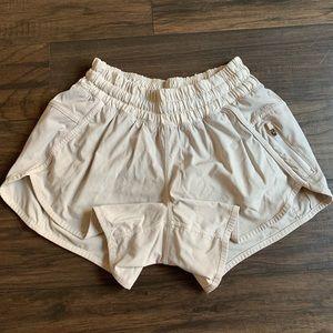Lululemon Size 4 running shorts